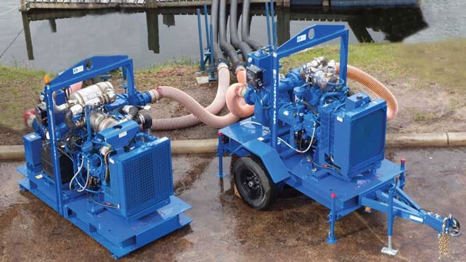Diesel-driven pumps