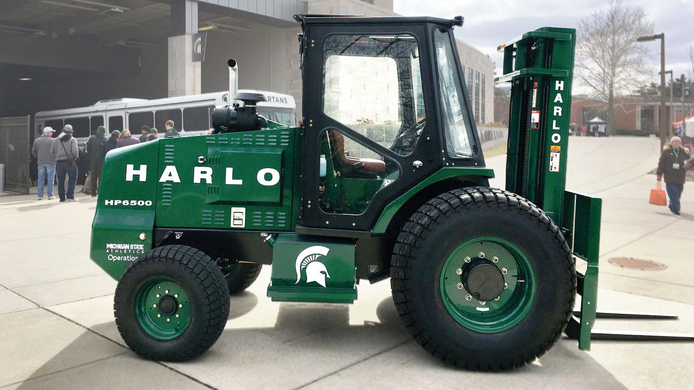 Custom HP6500 forklift from Harlo Products