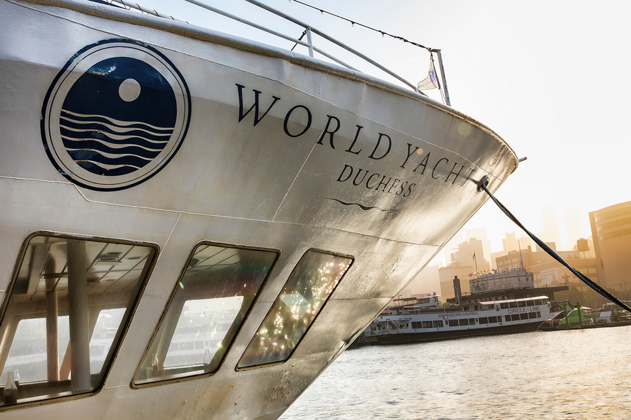 New York Cruise Lines' World Yacht Duchess