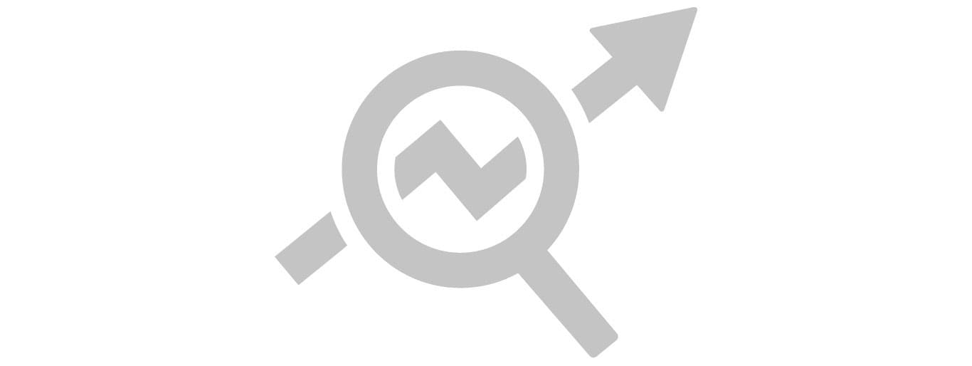 grey graphical icon on white background indicating productivity