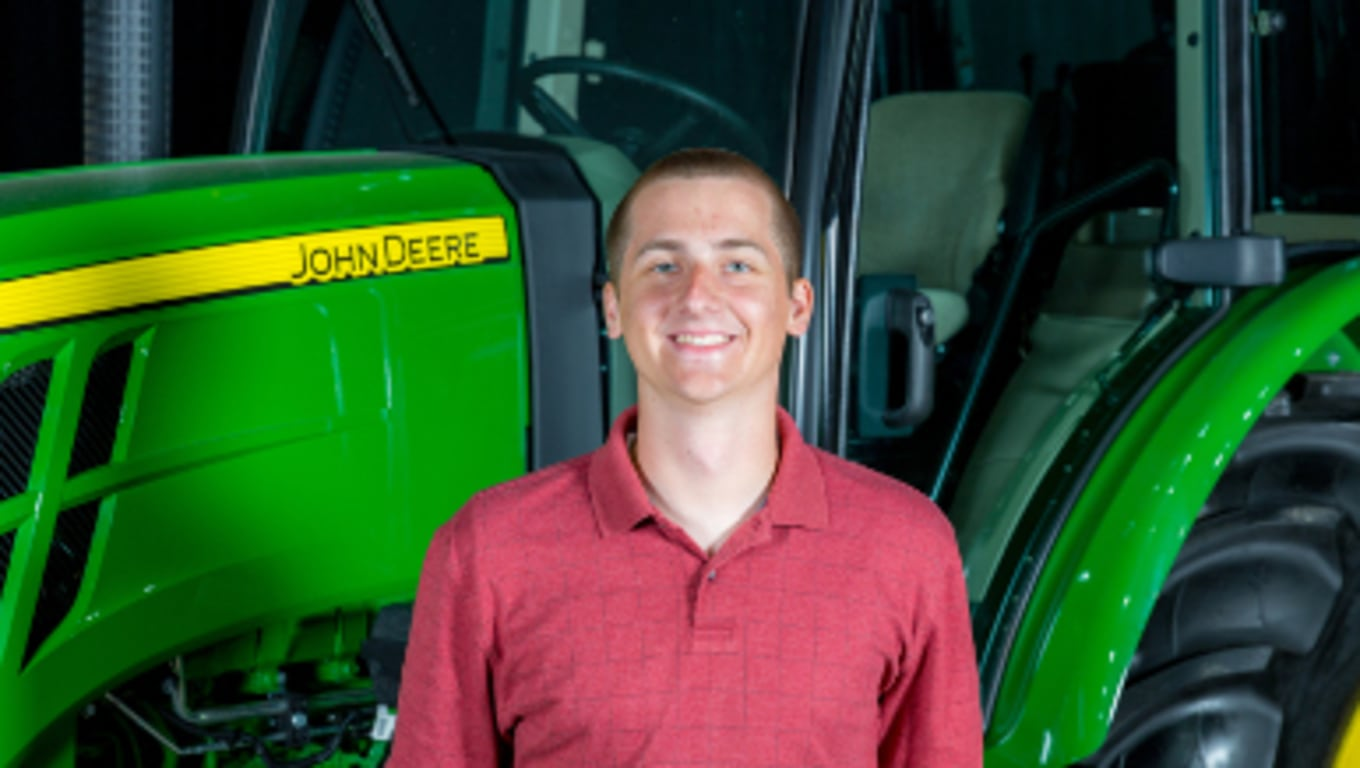 Keith, John Deere Intern