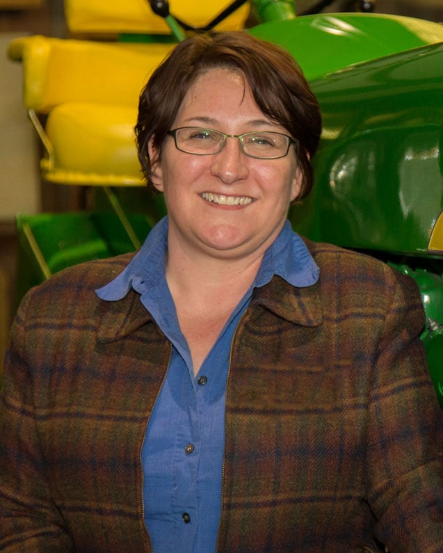 Picture of John Deere employee Cathy