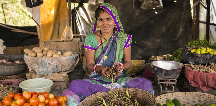 Photo of woman in Rural India