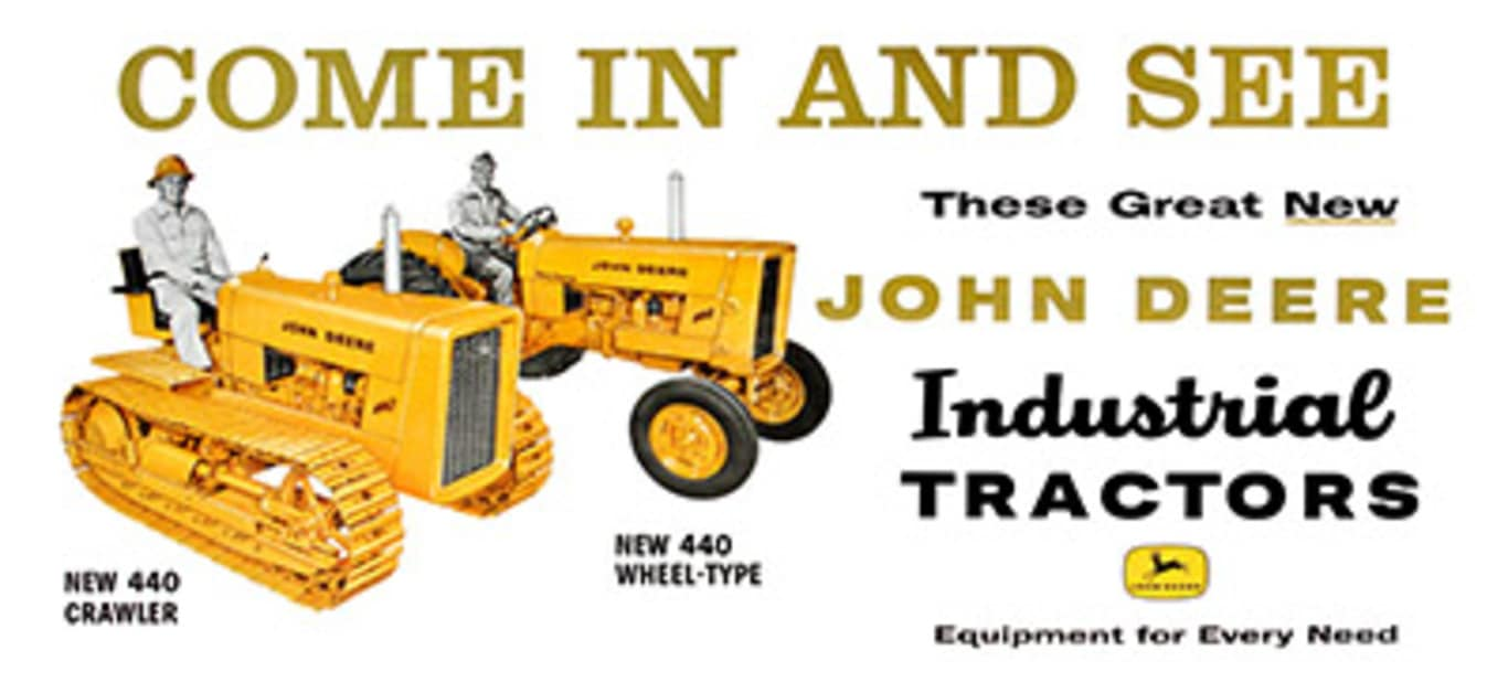 deere and company industrial equipment operations Deere & co: how it makes money (ttc, agco) the post-industrial revolution mass movement of most of the recent reduction in deere & co equipment operations.