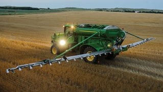 New John Deere High-Capacity Applicator Air Boom Option