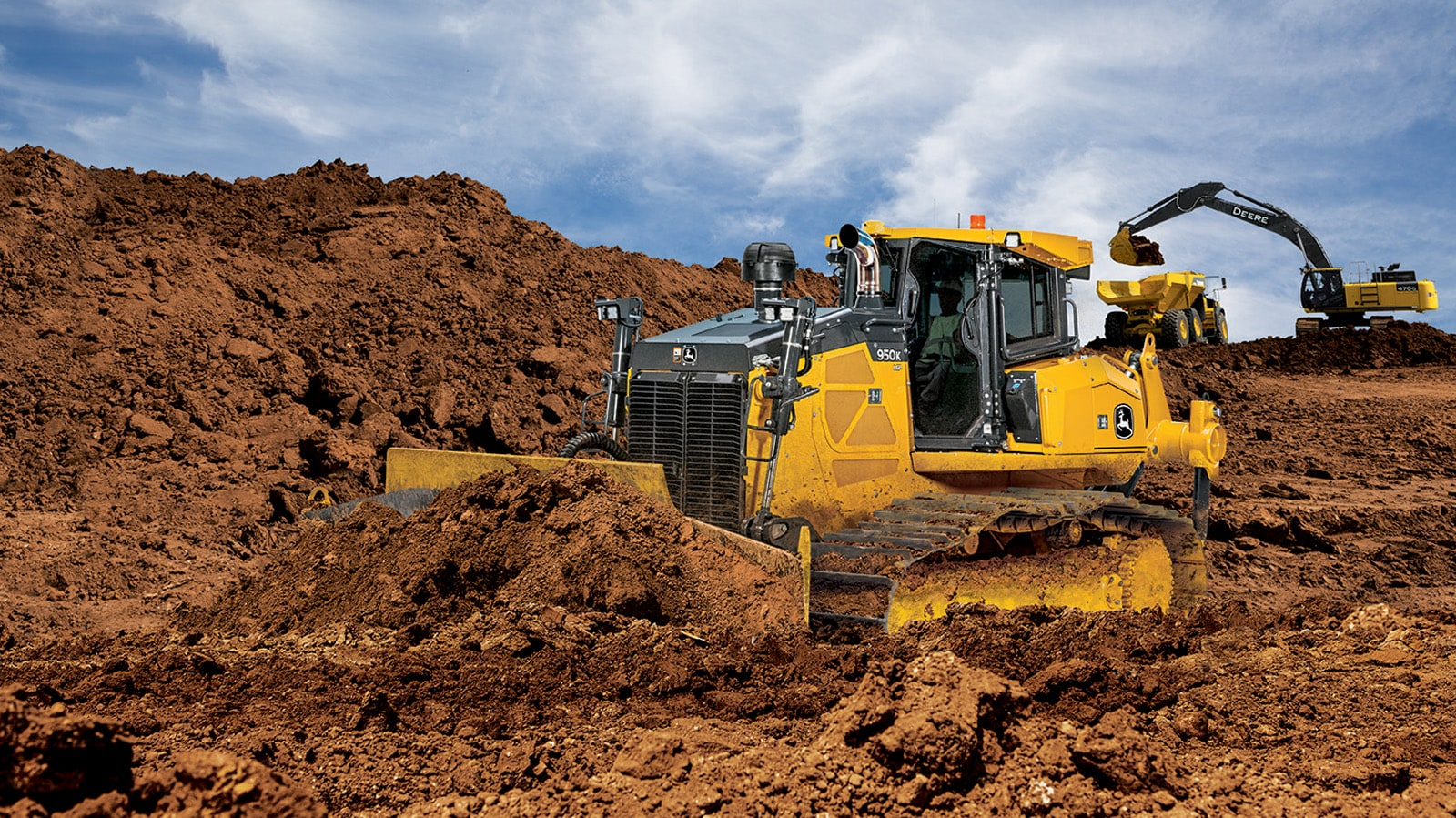 950k crawler dozer largest pat machine in north america