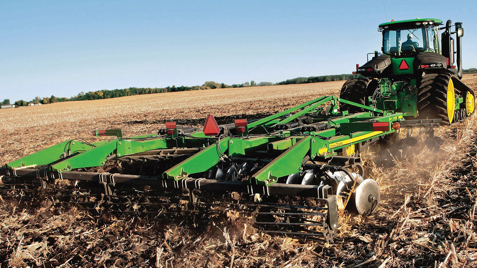 Customers with late model John Deere tillage tools, including the 2720 Disk Ripper, can now add TruSet Technology to these implements.