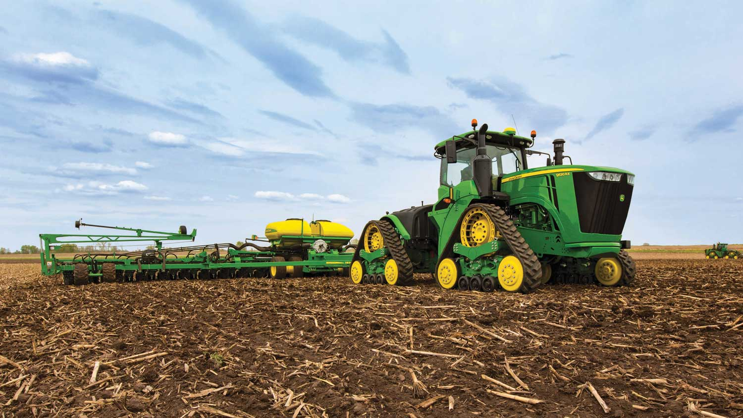 Deere 9rx Tractors Recognized For Design Innovation