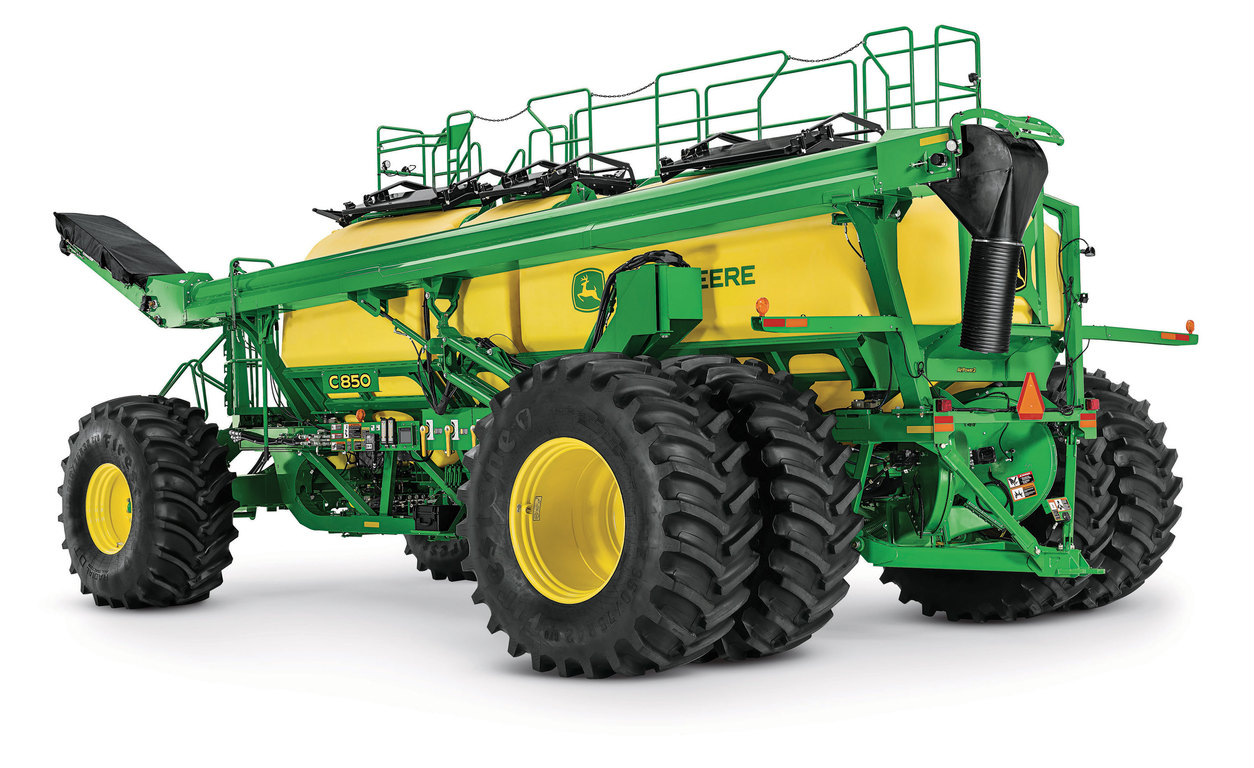 John Deere Introduces New C850 Air Cart