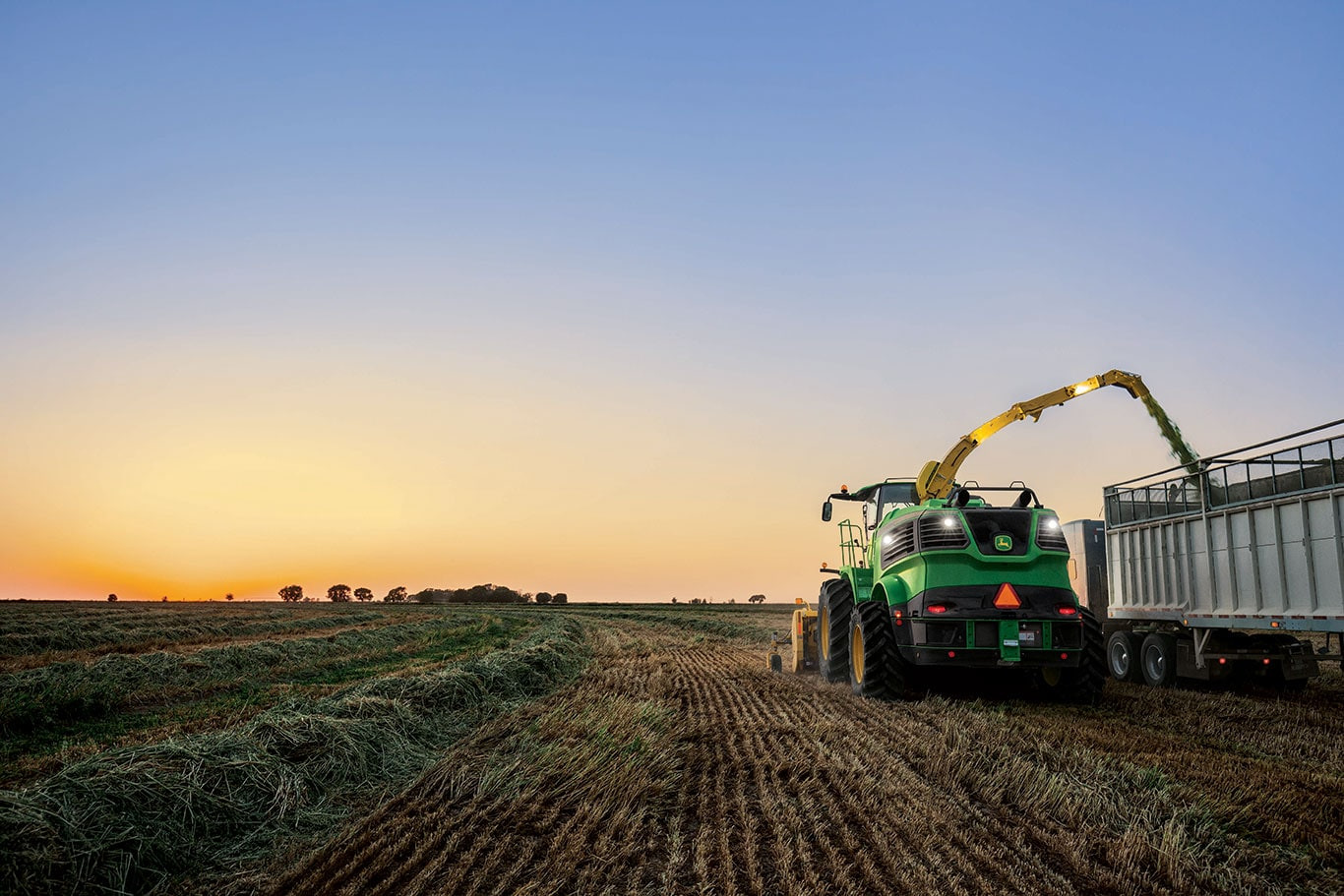 John Deere introduces new forage harvesters