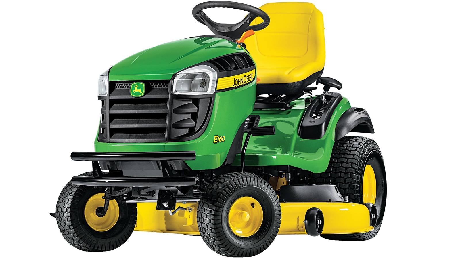 100 Series lawn tractors are comfortable and hassle-free
