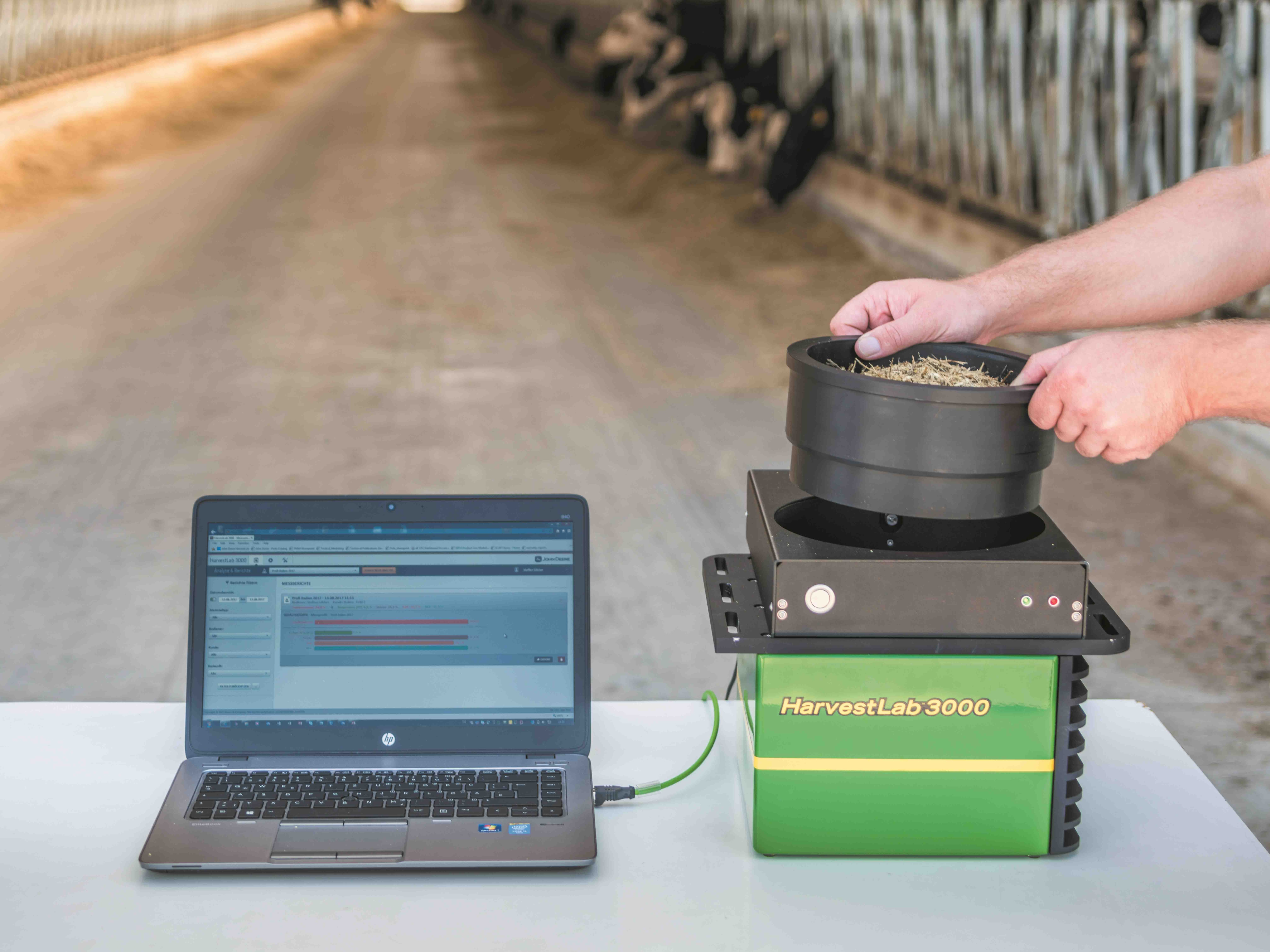 John Deere introduces new HarvestLab™ 3000