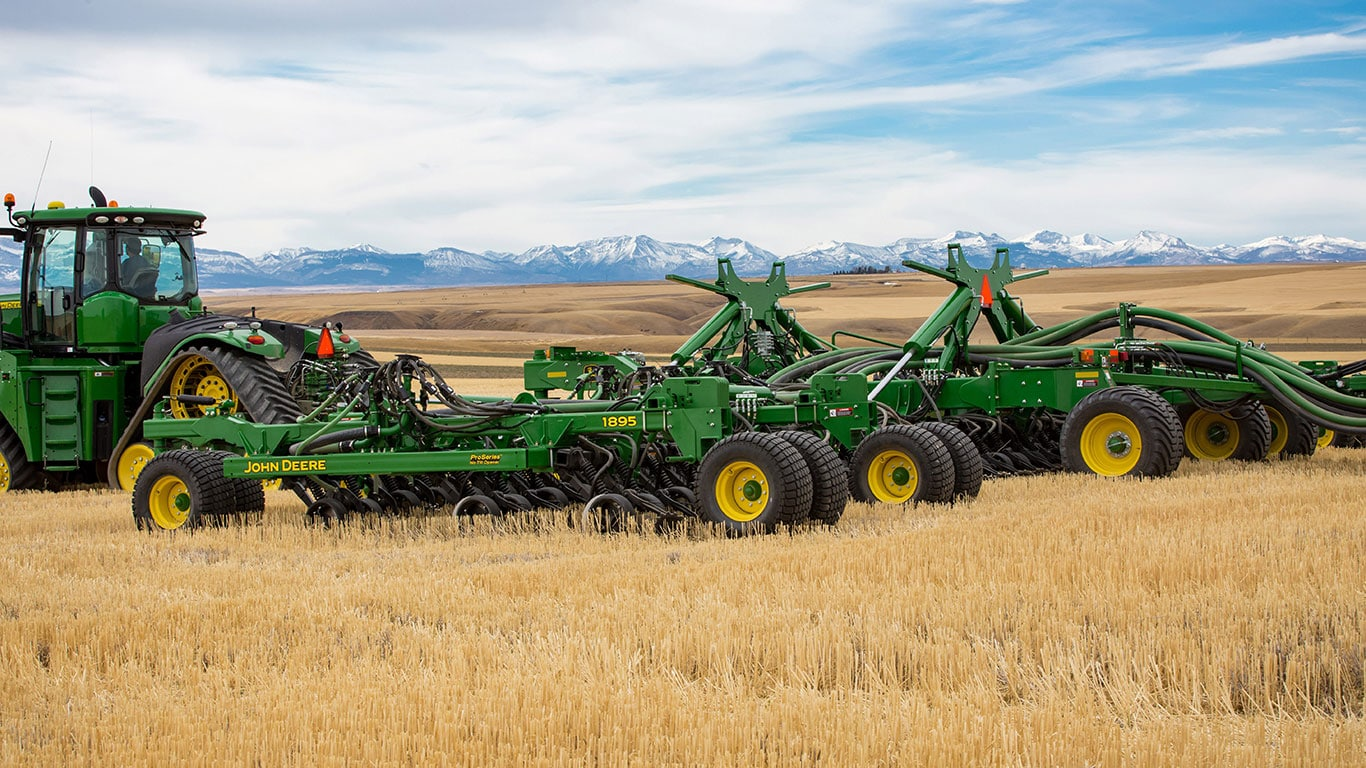 John Deere Introduces  No Till Drill And Proseries Openers