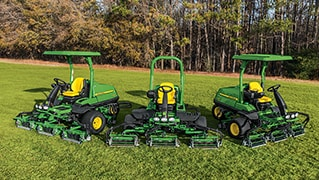 John Deere Golf Expansion of PrecisionCut™ Fairway Mowers