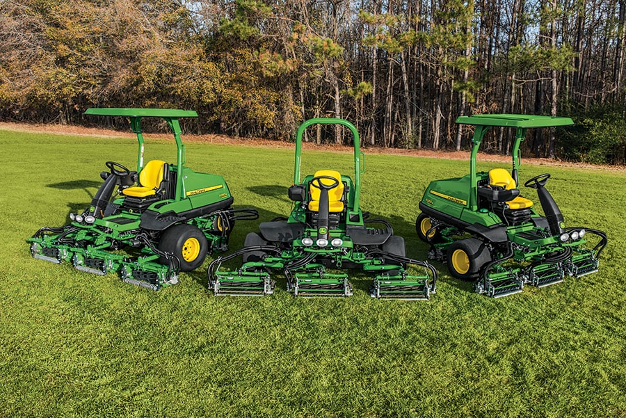 The 6080A, 6500A and 6700A PrecisionCut™ Fairway Mowers provide an economical mowing solution