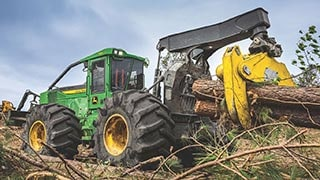 New John Deere L-Series II Skidders & Wheeled Feller Buncher