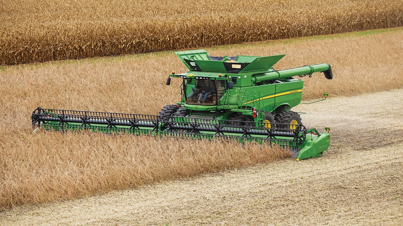 John Deere introduces its smarter S700 Combines for model year 2018 production.