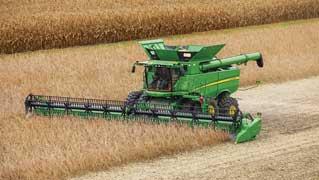 John Deere Combines honored by industy engineers