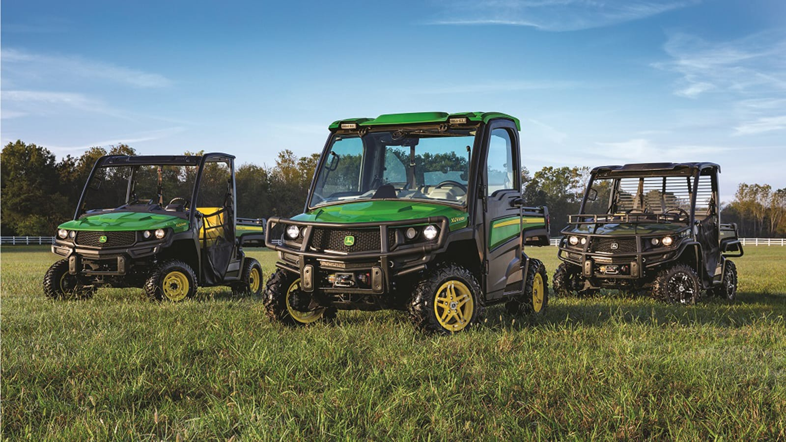The new Gator XUV models provide versatility, durability and productivity