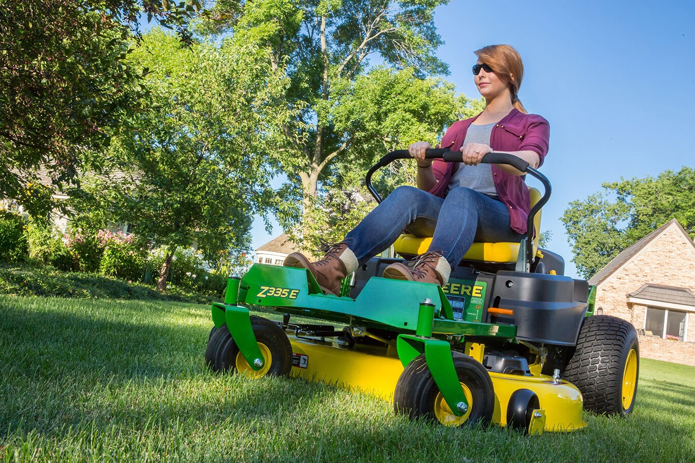 Updated John Deere Residential Zero-Turn Mowers Mow Well and Mow Fast