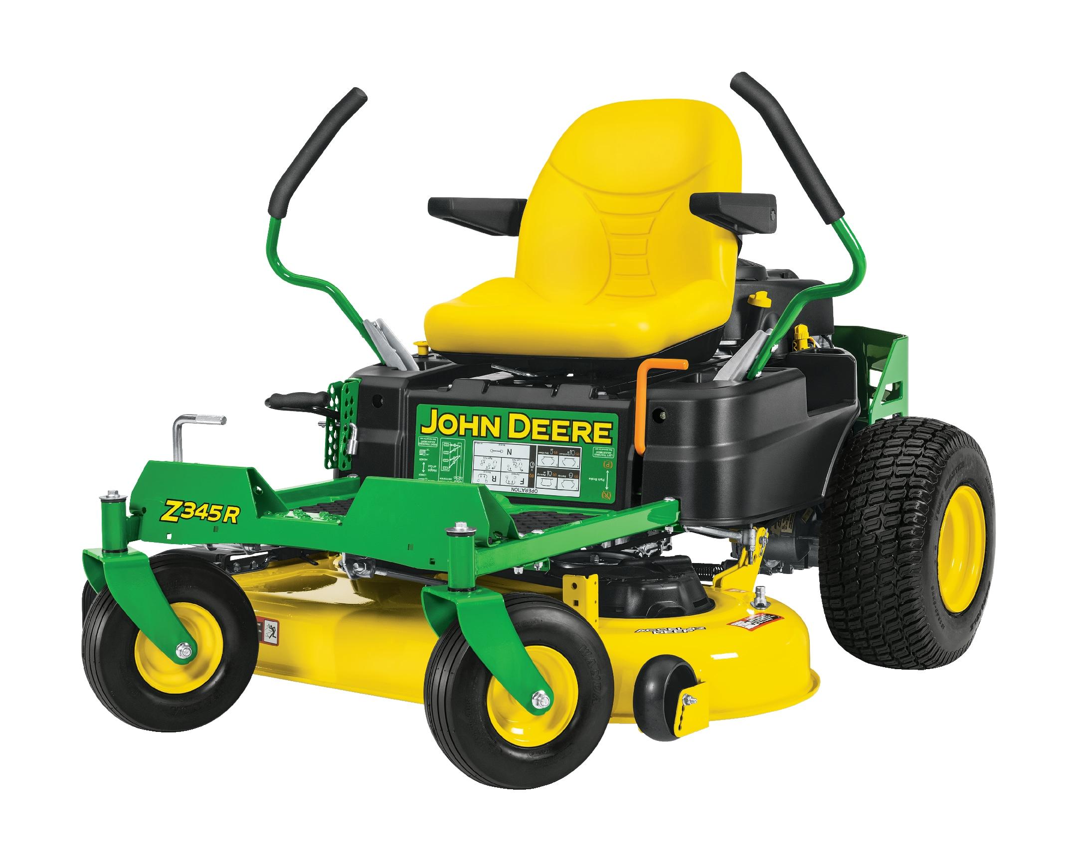 Studio image of a Z345R residential ZTrak mower