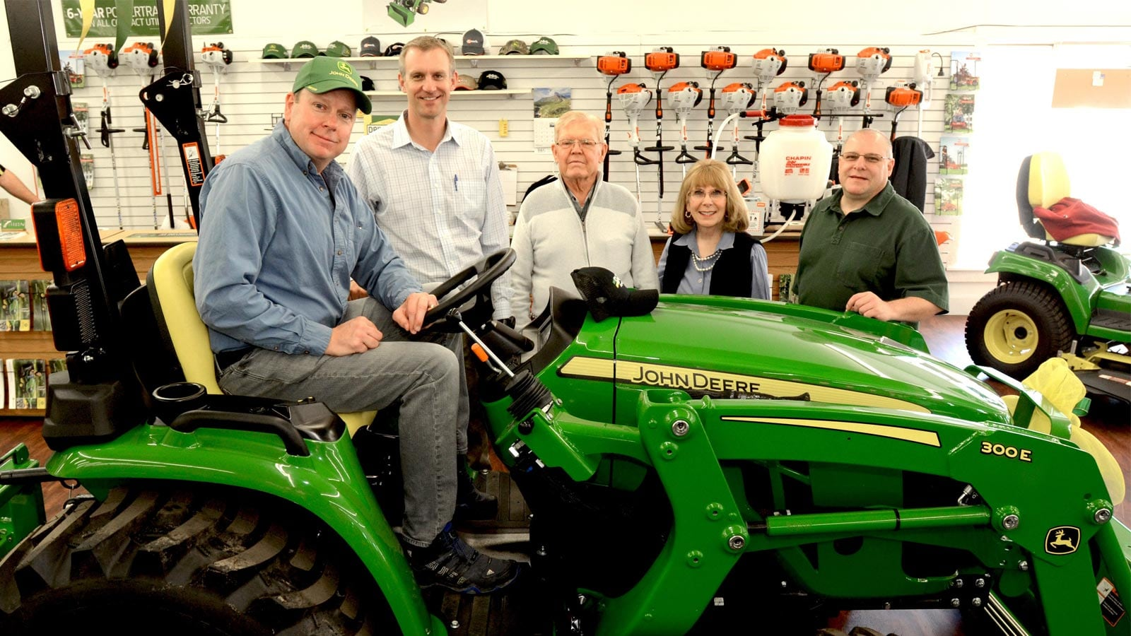 Michigan family wins 2017 John Deere Drive Green Prize