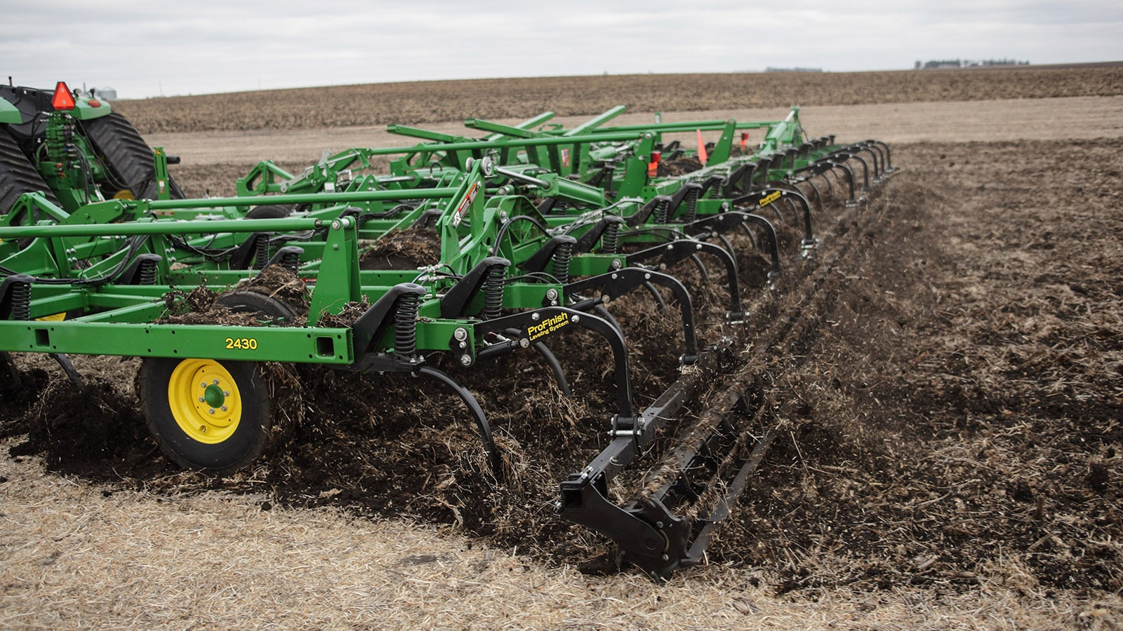 A 2430 Chisel Plow in the field