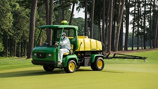 John Deere GPS PrecisionSprayer Launches