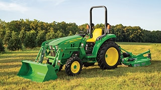 John Deere Launches Rugged Compact Utility Tractor