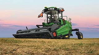 John Deere targets canola growers with W170 Windrower