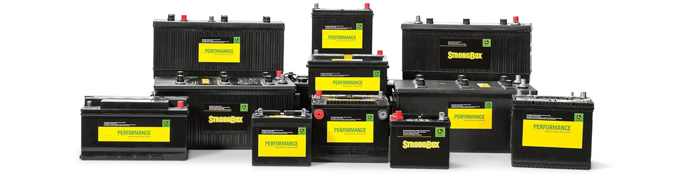 John Deere StrongBox and Performance batteries