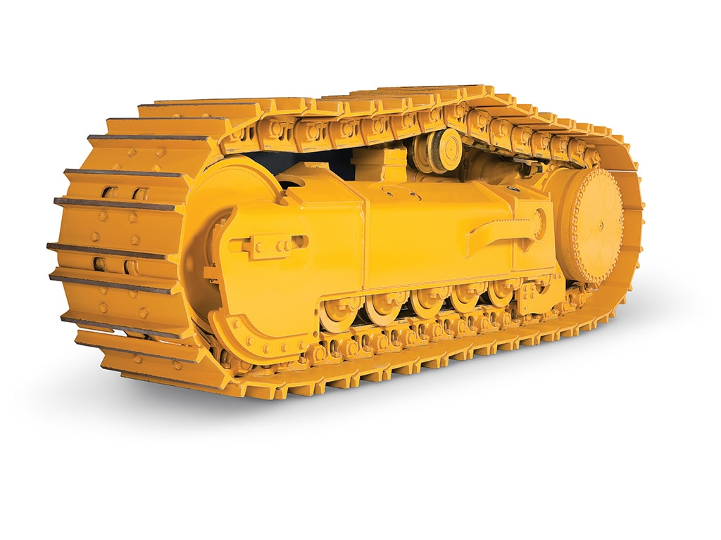 construction equipment undercarriage