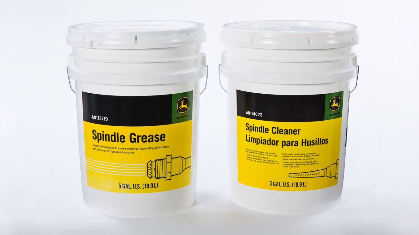John Deere spindle grease and lubricant