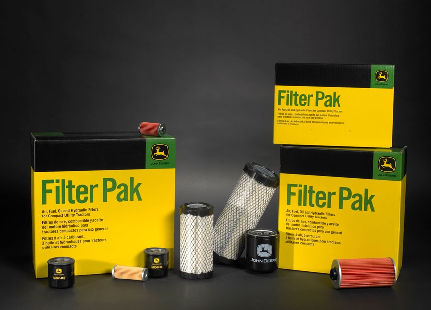 Assortment of filter paks