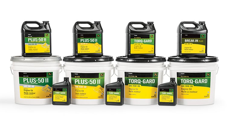 Plus 50 II Engine Oil display
