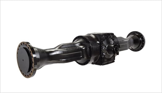 remanufactured axle