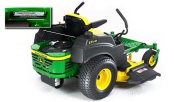 Lawn Mower Serial Number | John Deere US