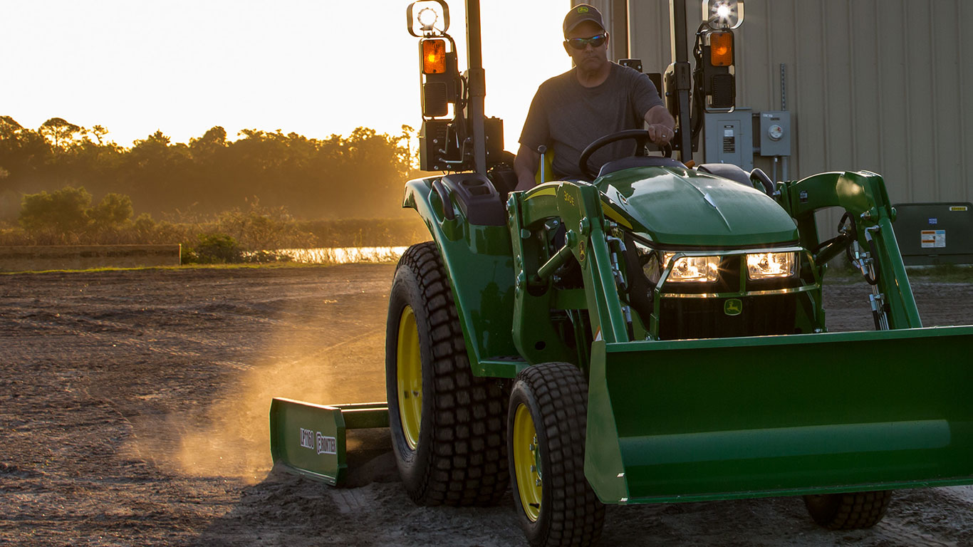 Compact and Utility Tractor Parts | Parts & Service | John