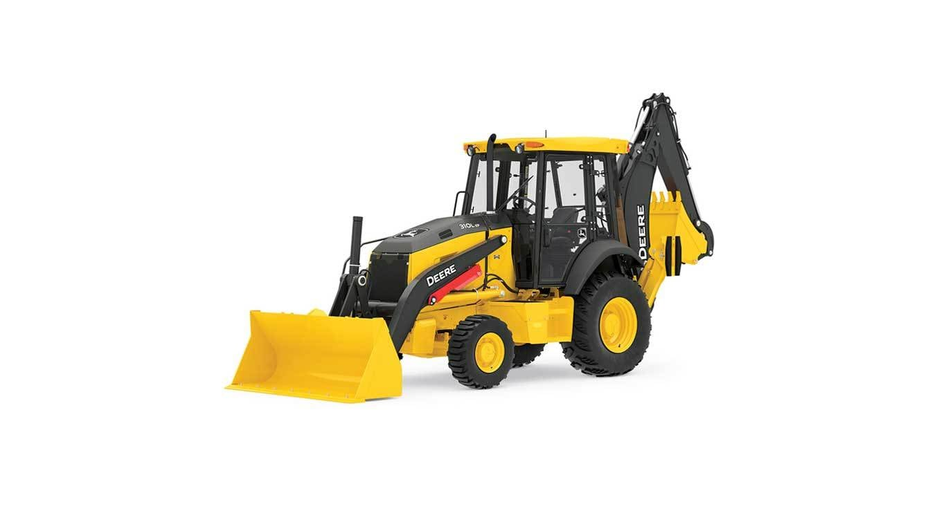 310L EP Backhoe studio image on a white background