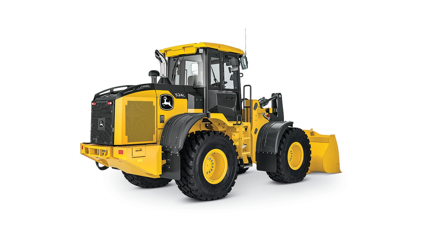 524L Mid-Size Wheel Loader