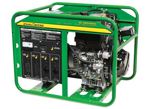 Generators | Home Workshop Products | John Deere US on