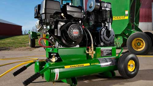 A John Deere air compressor