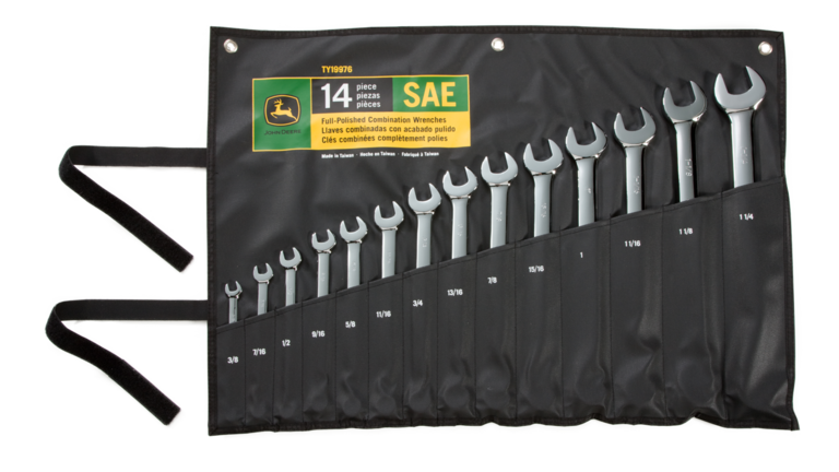 14-piece Combination Wrench Set (SAE)