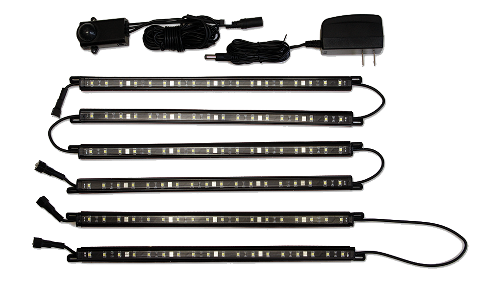 Clearview LED 5 wand light kit