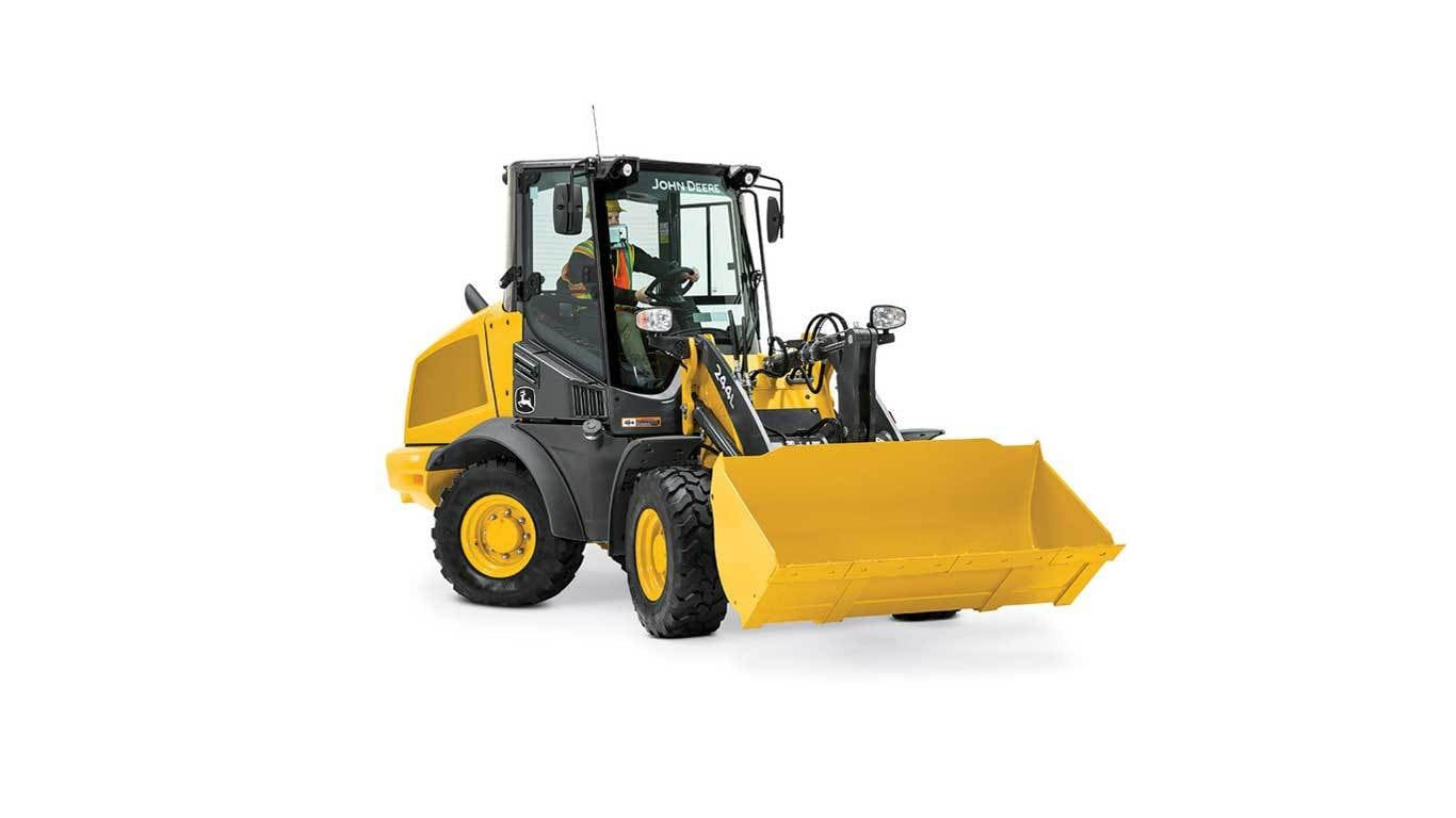 244L Compact Wheel Loader on a white background