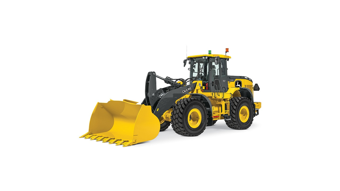 644L Hybrid Mid-Size Wheel Loader