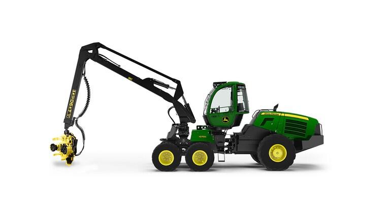 Wheeled Harvester