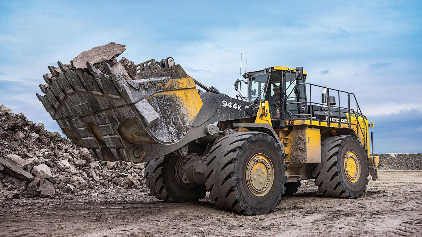 John Deere 944K Hybrid Wheel Loader Final Tier 4