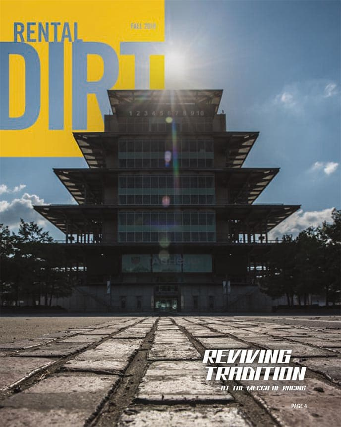 Cover of current Rental Dirt issue
