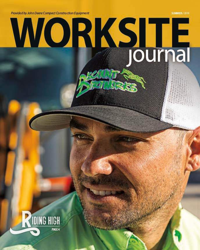 Cover of current Worksite Journal magazine